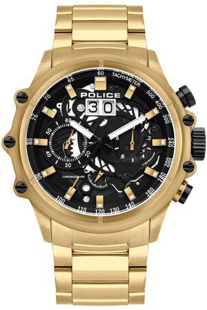 Police Reloj analógico PL16018JSG.02M, Quartz, 48mm, 10ATM para hombre