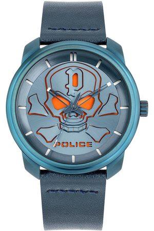 Police Reloj analógico PL15714JSBL.03, Quartz, 44mm, 3ATM para hombre