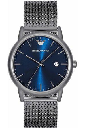 Armani Hombre Relojes - Reloj analógico AR11053, Quartz, 43mm, 5ATM para hombre