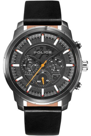 Police Reloj analógico PL15656JSU.02, Quartz, 50mm, 5ATM para hombre