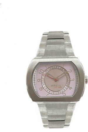 Breil Reloj analógico TW0489, Quartz, 34mm, 5ATM para mujer