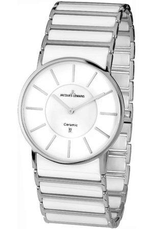 Jacques Lemans Reloj analógico 1-1648E, Quartz, 39mm, 5ATM para hombre