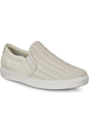 Ecco Zapatos Pisos suaves de 7 W para mujer