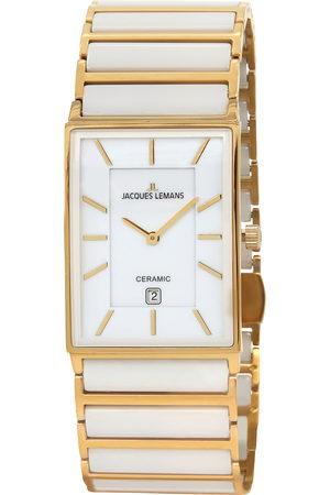 Jacques Lemans Reloj analógico 1-1593F, Quartz, 32mm, 5ATM para hombre
