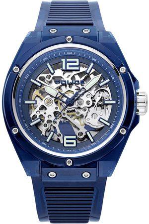 Police Reloj analógico PL15924JPBL.48P, Quartz, 44mm, 3ATM para hombre