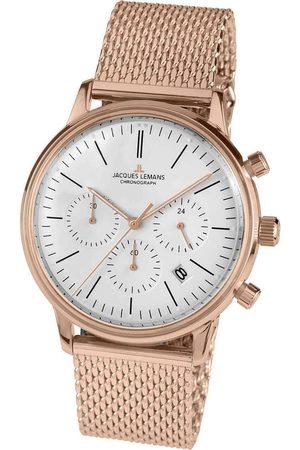Jacques Lemans Reloj analógico N-209M, Quartz, 40mm, 5ATM para mujer