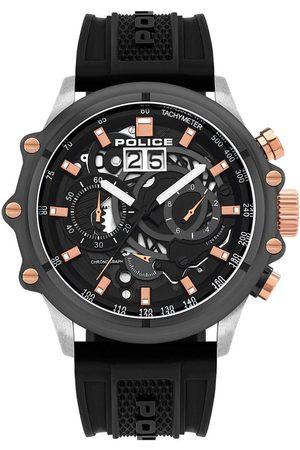 Police Reloj analógico PL16018JSTU.13P, Quartz, 48mm, 10ATM para hombre