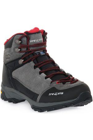Trezeta Zapatillas de senderismo ARGO WP GREY RED para hombre