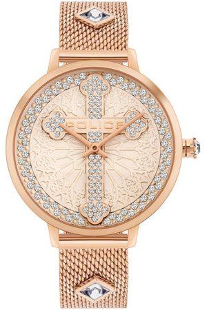 Police Reloj analógico PL16031MSR.32MMA, Quartz, 36mm, 3ATM para hombre