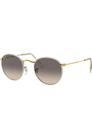 Ray-Ban Hombre Gafas de sol - RB3447JM Round Full Color 919632 Grey ON Legend Gold