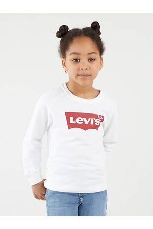 Levi's Kids Key Item Logo Crew / Red/White