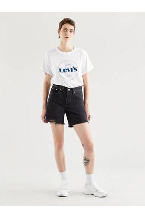 Levi's 501® ® Mid Thigh Shorts / Stonewashed Black
