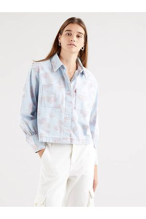 Levi's Mujer Camisas - Zoey Pleat Utility Shirt / Faint Floral