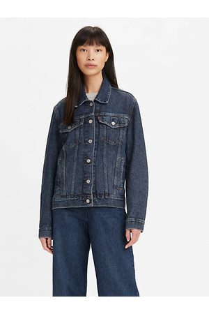 Levi's ® Wellthread™ Adjustable Trucker Jacket Indigo oscuro / Twilight Poppy