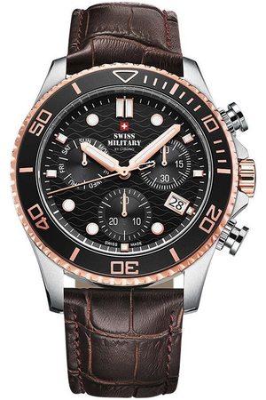 CHRONO Reloj analógico SM34051.05, Quartz, 46mm, 10ATM para hombre