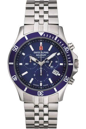 Swiss Alpine Military Reloj analógico Swiss Military 7022.9135, Quartz, 42mm, 10ATM para hombre