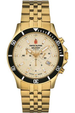 Swiss Alpine Military Reloj analógico Swiss Military 7022.9111, Quartz, 42mm, 10ATM para hombre
