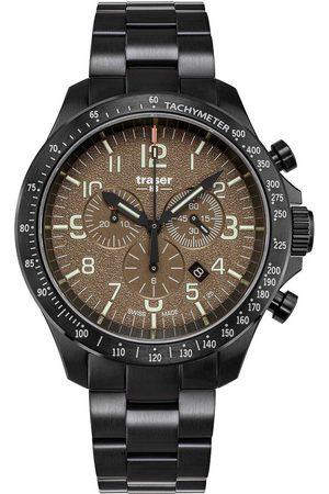 Traser H3 Reloj analógico 109460, Quartz, 46mm, 10ATM para hombre