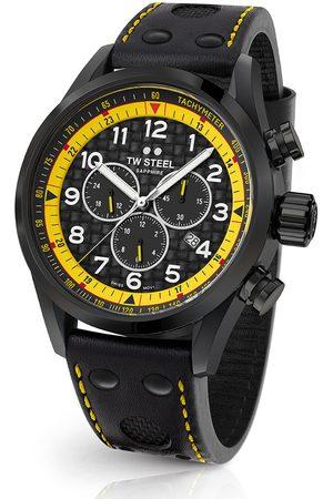 Tw-Steel Hombre Relojes - Reloj analógico SVS301, Quartz, 48mm, 10ATM para hombre