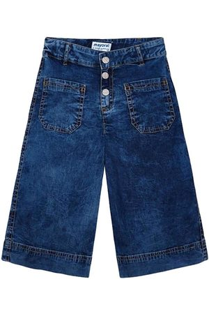 Mayoral Pantalones Pantalon culotte bolsillos para niña