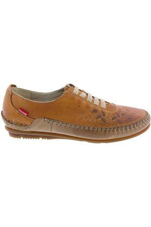 Fluchos Mocasines Zapatos F1181 Cuero para mujer