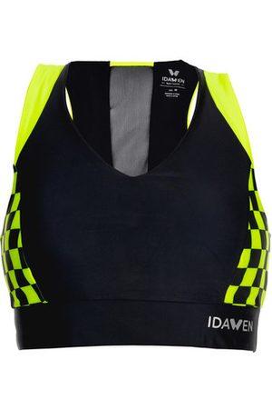 Idawen Sujetador deportivo Grandprix para mujer