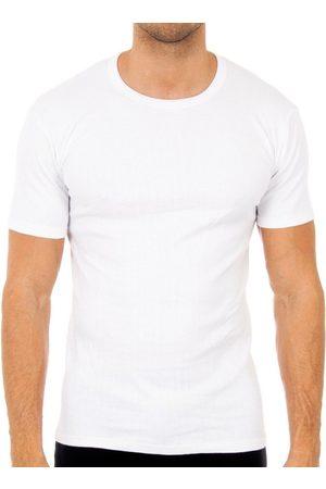 Abanderado Camiseta interior Pack-3 camisetas m/c invierno blan para hombre