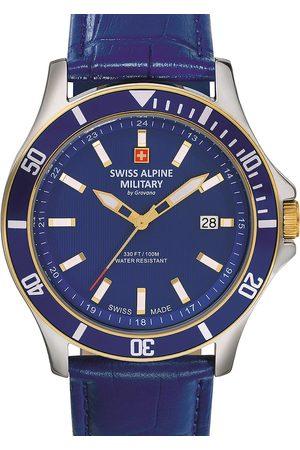 Swiss Alpine Military Reloj analógico 70.221.545, Quartz, 42mm, 10ATM para hombre