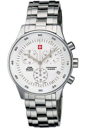 CHRONO Reloj analógico SM30052.02, Quartz, 41mm, 5ATM para hombre