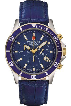 Swiss Alpine Military Reloj analógico 7022.9545, Quartz, 42mm, 10ATM para hombre