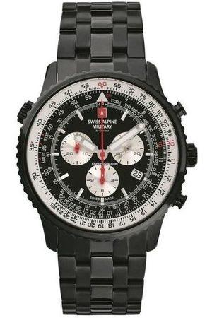 Swiss Alpine Military Reloj analógico 70.789.177, Quartz, 46mm, 10ATM para hombre