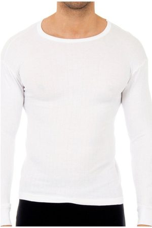 Abanderado Camiseta interior Pack-3 camisetas algodón m.larga para hombre
