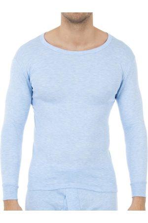 Abanderado Camiseta interior Pack-3 camisetas fibra m/l blanco para hombre