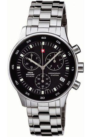 CHRONO Reloj analógico SM30052.01, Quartz, 41mm, 5ATM para hombre
