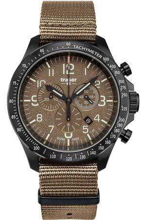 Traser H3 Reloj analógico 109459, Quartz, 46mm, 10ATM para hombre