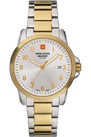 Swiss Alpine Military Reloj analógico 7011.1142, Quartz, 40mm, 10ATM para hombre