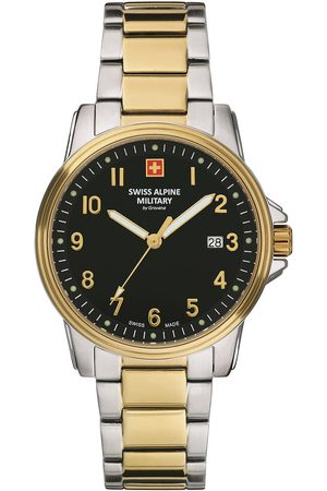 Swiss Alpine Military Reloj analógico Swiss Military 7011.1147, Quartz, 42mm, 10ATM para hombre