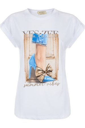 YES ZEE BY ESSENZA Camiseta T239-LU06 para mujer