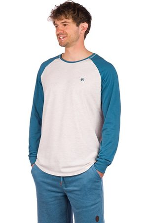 Kazane Brock Long Sleeve T-Shirt gris