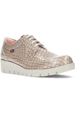 CallagHan Zapatos Bajos S HAMAN NATURAL GOLD para mujer