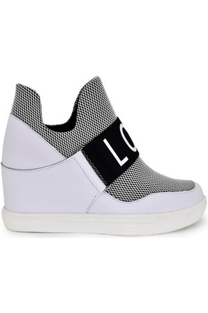 Exe Zapatillas altas SNEAKER CUÑA BICOLOR IRIS-010 para mujer