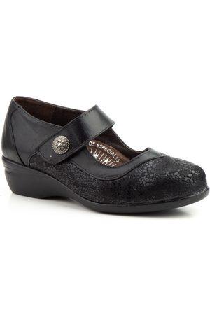 Cbp - Conbuenpie Zapatos de tacón Merceditas confort de piel by CBP para mujer