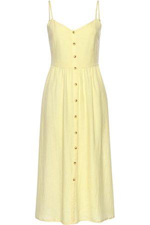 Lascana Vestido Vestido largo de verano Leinen para mujer