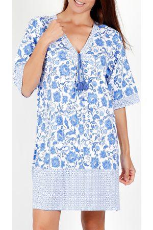 Admas Vestido Etienne vestido de verano manga corta para mujer