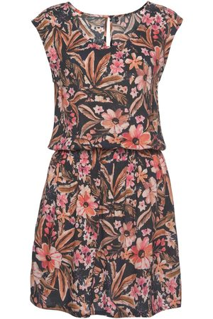 Lascana Vestido Vestido de verano manga corta Flower para mujer