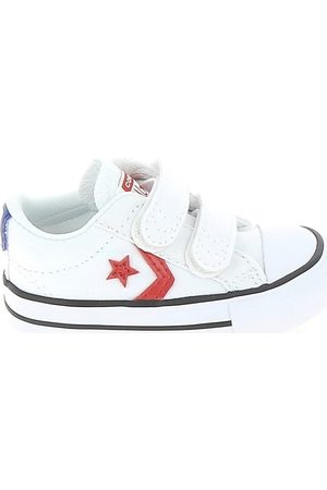Converse Zapatillas Star Player 2V BB Blanc Rouge para niño