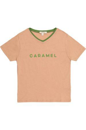 Caramel Camiseta Shark de algodón