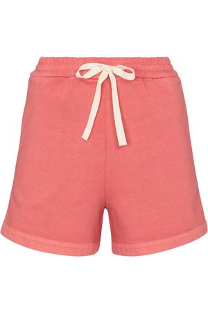 Jil Sander Shorts de punto fino de algodón