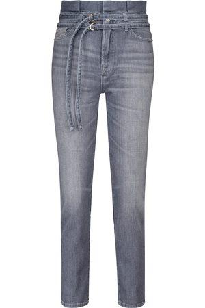 7 for all Mankind Jeans ajustados paperbag