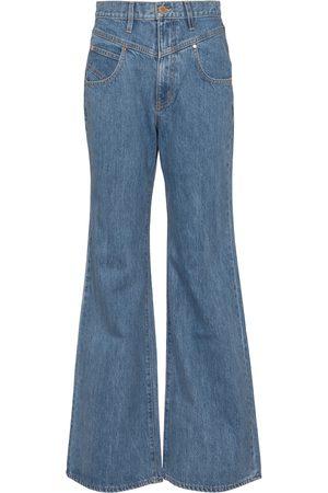 SLVRLAKE X ELLERY jeans flared Highway de tiro alto